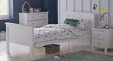 Argos Home Brooklyn Single Bed and Kids Mattress -