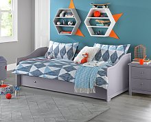 Argos Home Brooklyn Wooden Day Bed with Trundle -