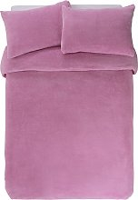 Argos Home Bubblegum Pink Bedding Set - Double