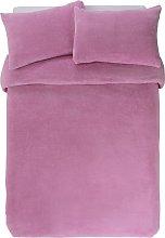 Argos Home Bubblegum Pink Bedding Set - Kingsize