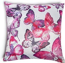 Argos Home Butterfly Cushion - Pink - 43x43cm