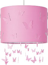 Argos Home Butterfly Cutout Shade - Pink