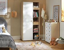 Argos Home Camden 3 Piece 1 Door Wardrobe Set