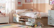 Argos Home Camden Cabin Bed & Kids Mattress - Grey