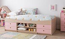 Argos Home Camden Cabin Bed & Kids Mattress - Pink