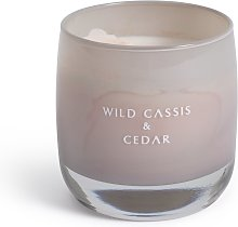 Argos Home Candle with Glass Holder - Wild Casis &