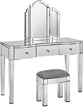 Argos Home Canzano Mirrored 3 Drawer Dressing