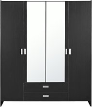 Argos Home Capella 4 Door 2 Drawer Mirrored