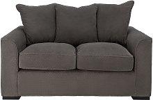 Argos Home Carson 2 Seater Fabric Sofa - Grey