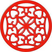 Argos Home Cast Iron Trivet - Red