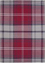 Argos Home Check Flatweave Wool Rug - 120x160cm -