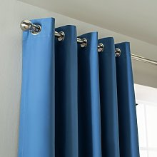 Argos Home Children's Blackout Eyelet Curtains - Blue