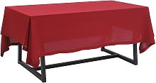 Argos Home Christmas Red Table Cloth
