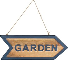 Argos Home Coastline Arrow Garden Sign