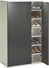 Argos Home Cologne Mirror Shoe Storage Cabinet -