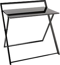 Argos Home Compact Folding Office Desk - Black