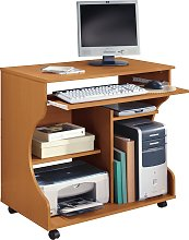 Argos Home Computer Office Desk - Pine Effect
