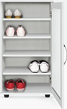 Argos Home Contemporary Shoe Cabinet - White