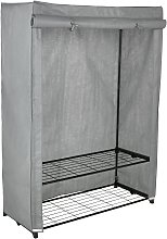 Argos Home Covered Double Wardrobe - Grey