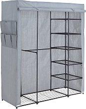 Argos Home Covered Triple Wardrobe with Storage -