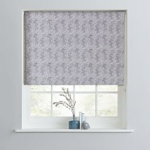 Argos Home Cow Parsley Blackout Roller Blind - 3ft
