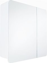 Argos Home Curve 2 Door Mirrored Bathroom Cabinet