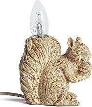 Argos Home Cyril The Squirrel Table Lamp - Light