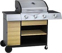 Argos Home Deluxe 3 Burner Outdoor Kitchen Gas BBQ