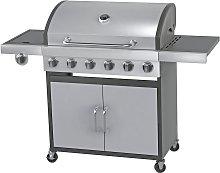 Argos Home Deluxe 6 Burner Gas BBQ