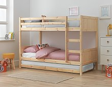 Argos Home Detachable Bunk Bed Frame with Trundle