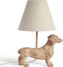 Argos Home Dexter the Dachshund Table Lamp