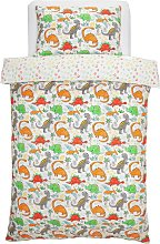 Argos Home Dino Bedding Set - Single