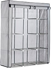 Argos Home Double Modular Fabrics Wardrobe - Grey