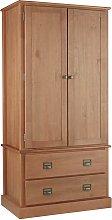 Argos Home Drury Pine 2 Door 2 Drawer Wardrobe