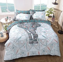 Argos Home Elephant Mandala Bedding Set - Single