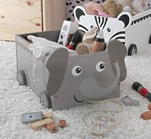 Argos Home Elephant Toy Storage Buggy
