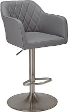 Argos Home Ellington Quilted Faux Leather Bar