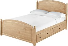 Argos Home Emberton Double Bed Frame - Pine