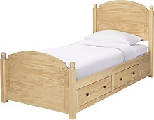 Argos Home Emberton Single Bed Frame - Pine