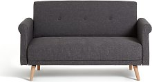 Argos Home Evie 2 Seater Fabric Sofa in a Box -