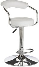 Argos Home Executive Gas Lift Bar Stool w/ Back