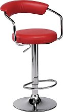 Argos Home Executive Gas Lift Bar Stool with Back