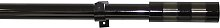 Argos Home Ext Contrast Band Curtain Pole - Black