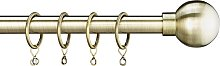 Argos Home Ext Metal Classic Ball Curtain Pole -