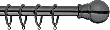 Argos Home Extendable Metal Ball Curtain Pole -