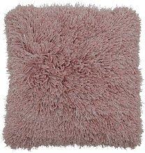 Argos Home Eyelash Luxe Cushion - Blush Pink -