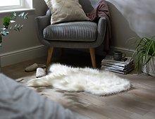 Argos Home Faux Sheepskin Rug - 60x90cm - Cream