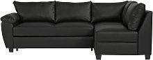 Argos Home Fernando Right Corner Sofa Bed - Black