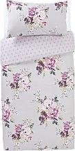 Argos Home Floral Bedding Set - Single