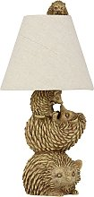 Argos Home Forest Dawn Hedgehog Family Table Lamp